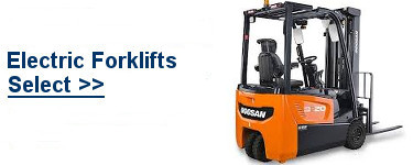 Select Doosan Electric Forklifts
